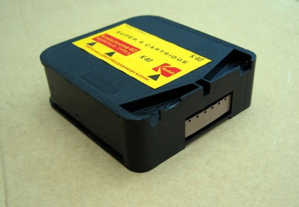 A super 8 Kodachrome cartidge