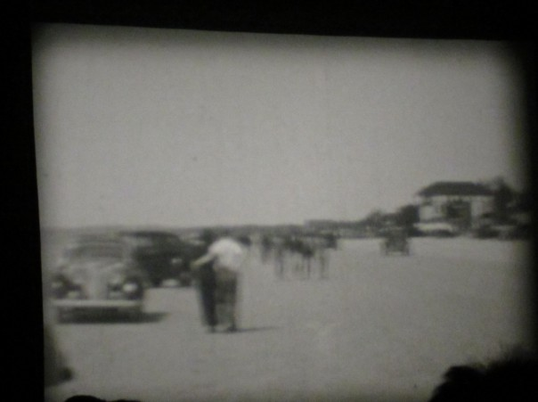 cars driving on wasaga beach 1930s