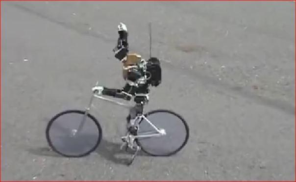 bikeridingrobot